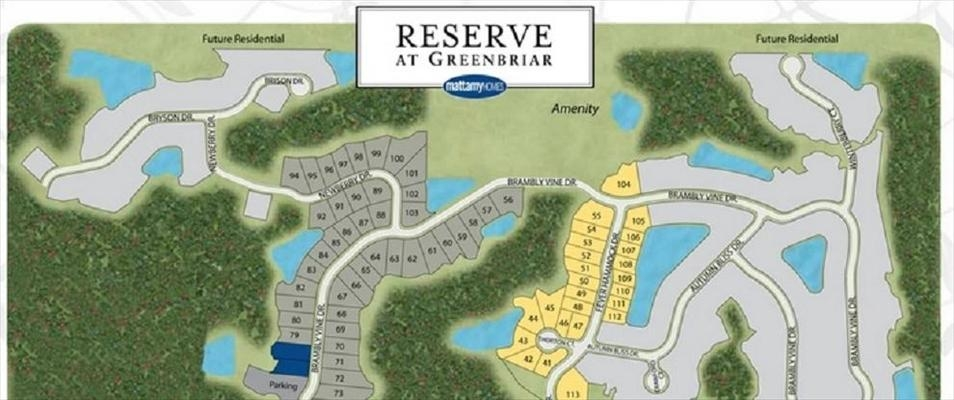 Reserve At Greenbriar   New Homes For Sale
