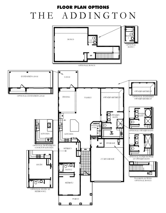 Rivertown model david weekley homes the addington the for David homes floor plans