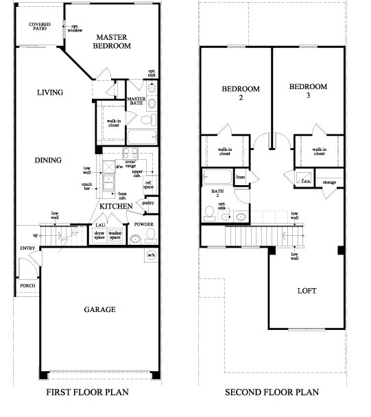 Townhouse Floor Plan 3 Car Garage Google Search: New Townhomes Villages Of Bartram Springs, Mandarin FL