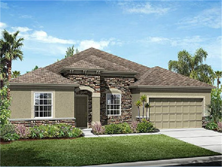 Greenleaf village at nocatee model inverness ryland homes House builders inverness