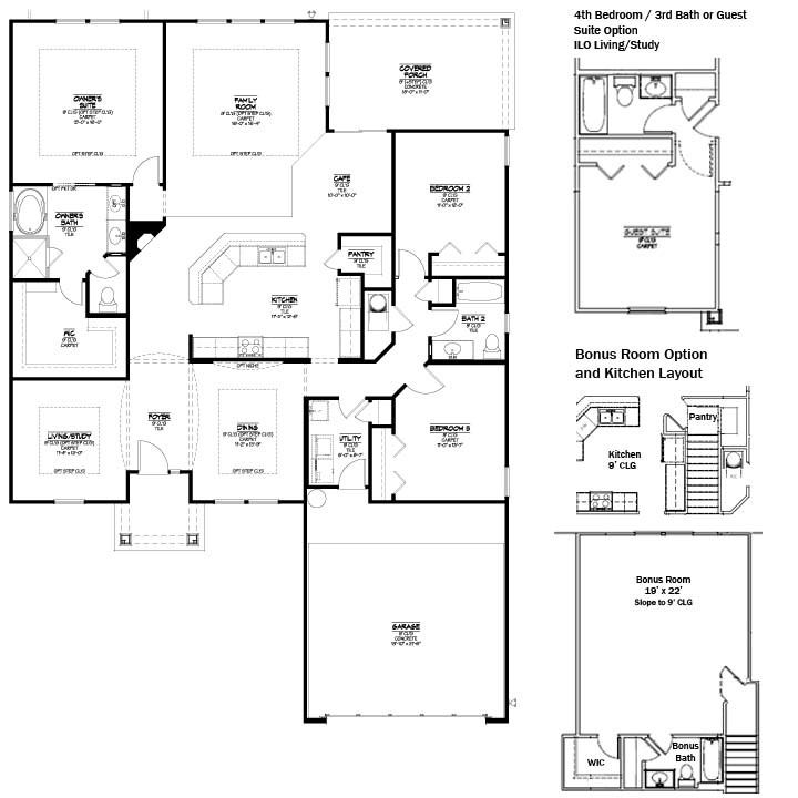 Austin park at nocatee model st thomas cornerstone home for Austin home plans