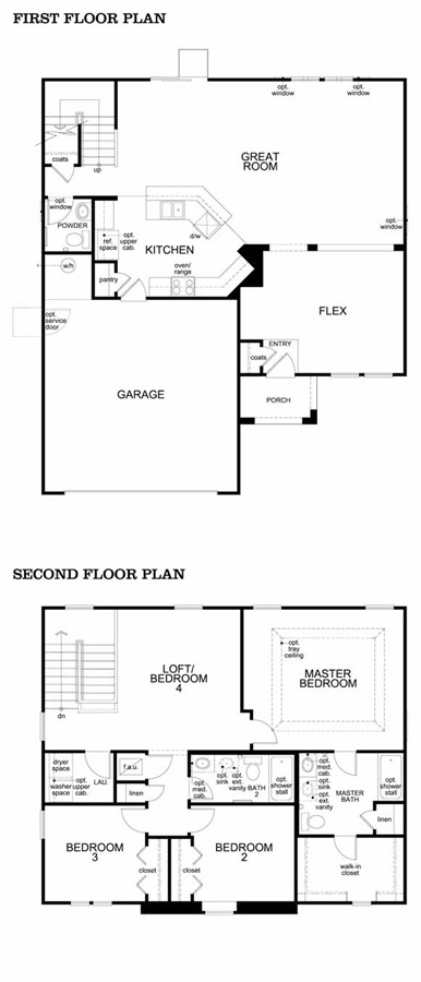 Wexford Chase Model 2095 Plans Home by KB Homes