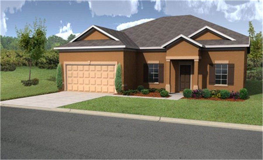 Benton Lakes Model Serenata W Bonus Single Family Home By