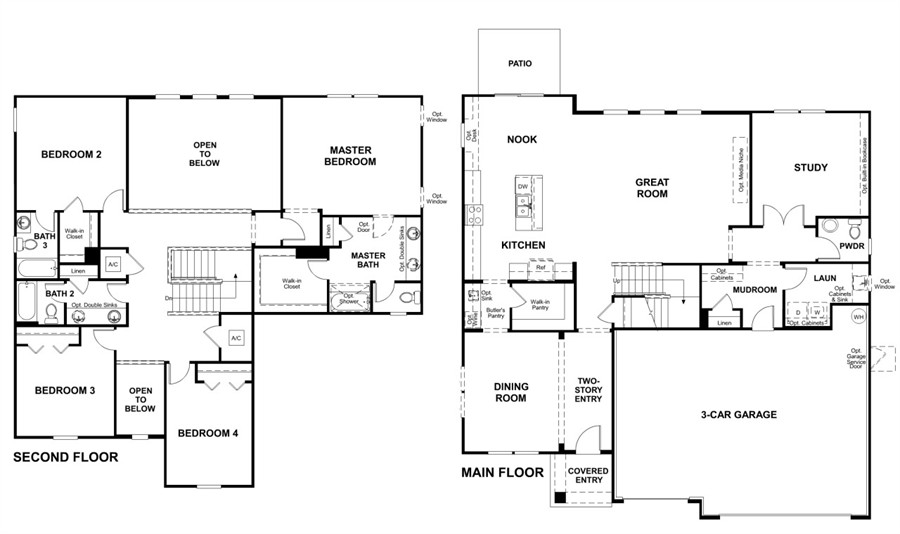 Silverthorn model dillon single family home home by for American home floor plans