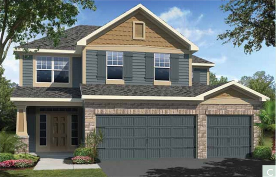 Crosswater at pablo bay model kaila mattamy homes home by for Mattamy homes