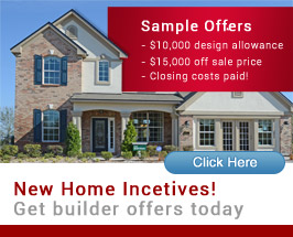 Jacksonville New Home Incentives and Deals